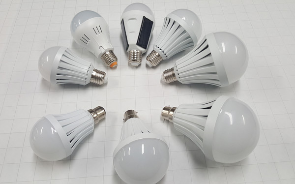 Eight Various NanoSmart Bulbs