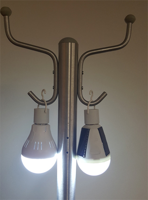 Sample Installed NanoSmart Light Bulbs - Working-Independently